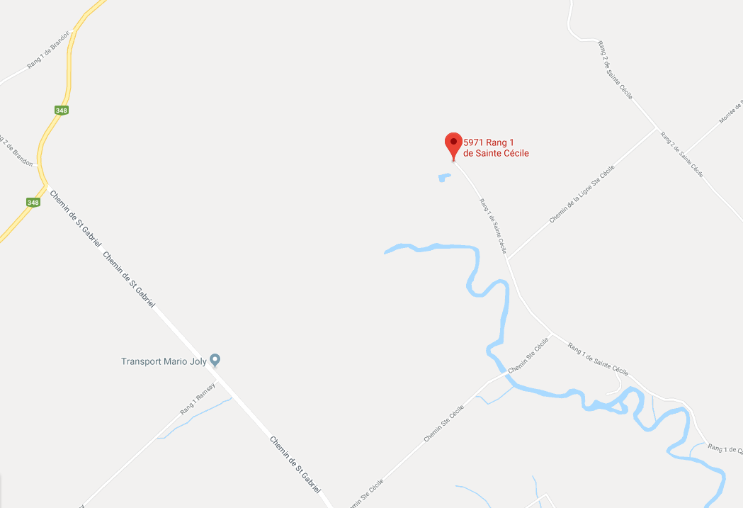 Cliquez sur voir sur google maps